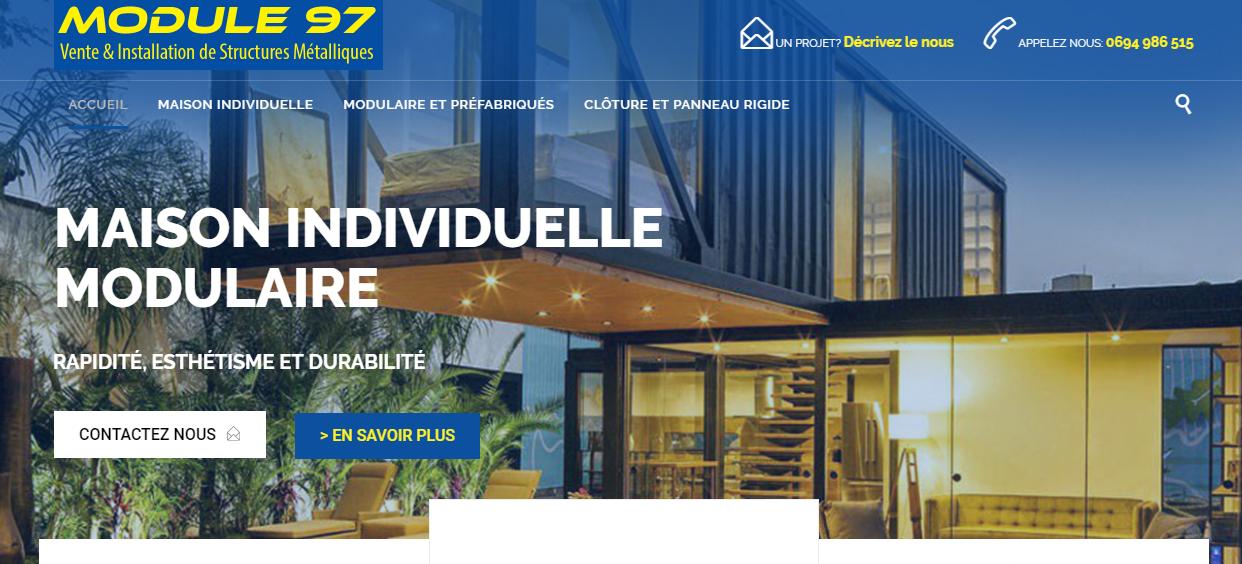Module97 site web vitrine