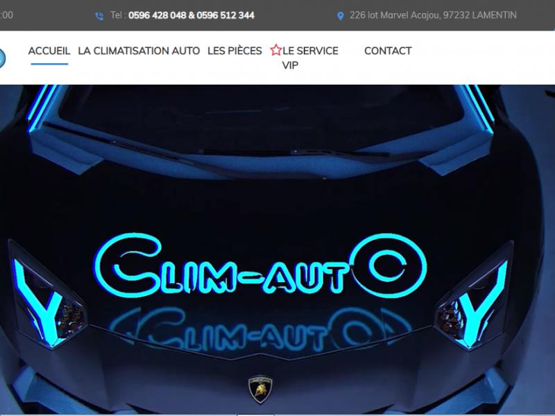 Electro clim auto - Site Internet